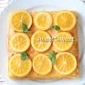 オレンジバターシロップ の ケーキ
