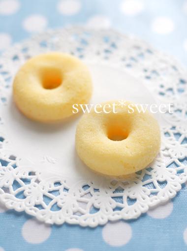 プレーンな焼きドーナツ