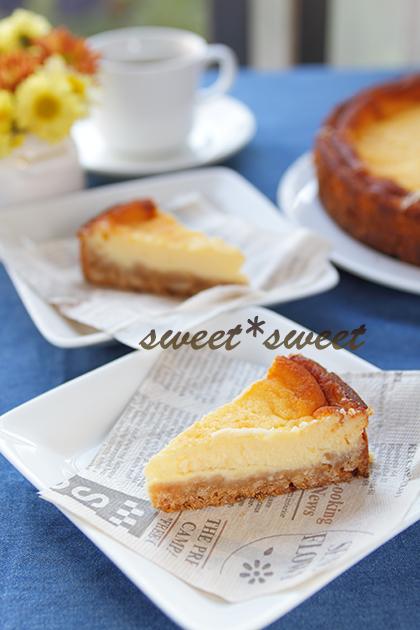 材料 使い切り のチーズケーキ