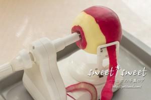 りんごの皮むき器