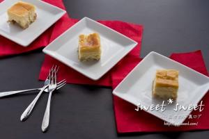生クリーム・サワークリム入りのニューヨークチーズケーキ